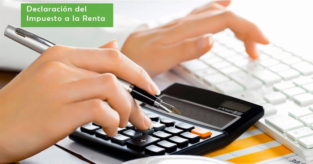 declaración del impuesto a la renta formulario 102A en línea