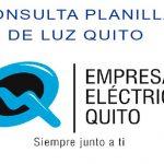 empresa electrica quito planilla