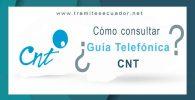 guía telefónica cnt